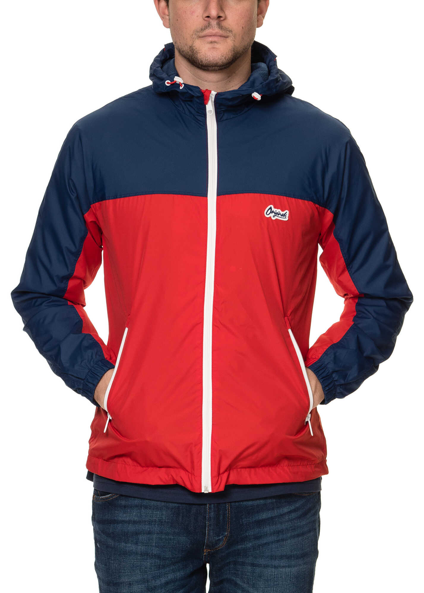JACK & JONES Retro Men's Red Jacket Scarlet