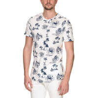 Tricouri Mirage Tee Men's White Short Sleeved T Shirt Barbati
