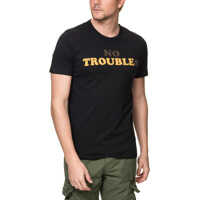Tricouri Faden Men's Black T Shirt Barbati