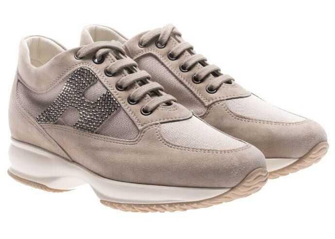 Hogan Beige Interactive Sneakers* Beige