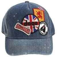 Palarii Denim Hat With Patches Baieti