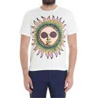 Tricouri Paul Smith White Sun T-Shirt