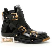 Ghete & Cizme Alexander McQueen Brushed Calfskin Boots