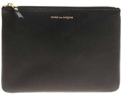 Comme des Garçons Black Leather Purse Black