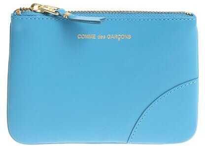 Comme des Garçons Classic Leather Pouch In Light Blue SA8100 BLUE Light Blue imagine b-mall.ro