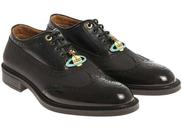 Vivienne Westwood Black Oxford Shoes Black