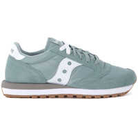 Tenisi & Adidasi Jazz Green And White Suede And Nylon Sneaker Barbati
