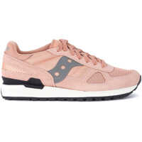 Tenisi & Adidasi Saucony Shadow Pink And Grey Suede And Mesh Sneaker