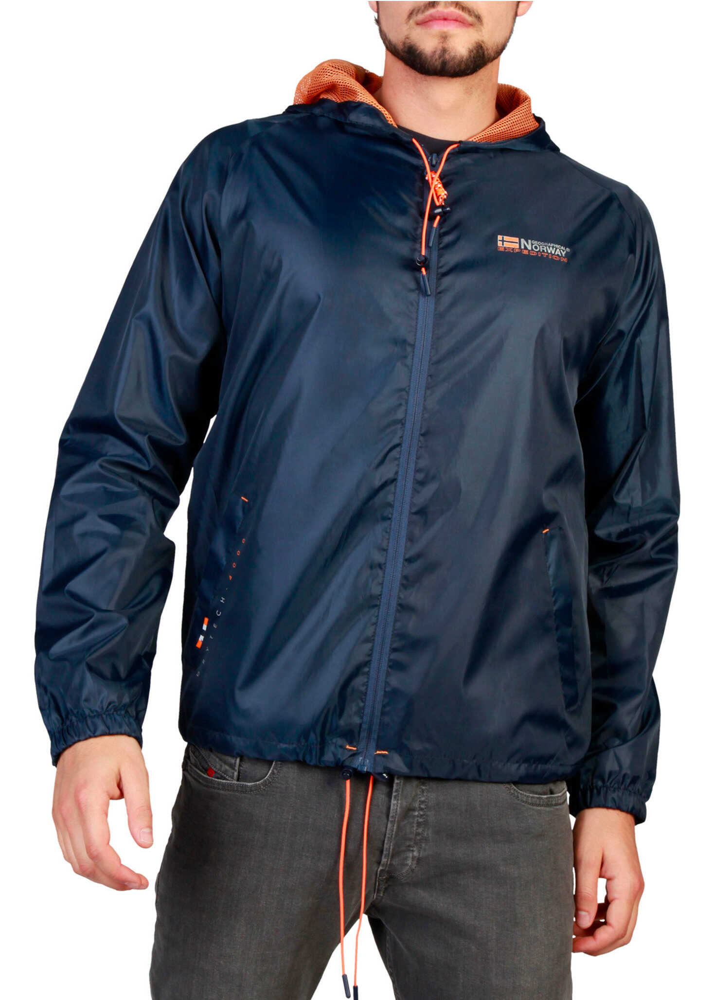Geographical Norway Boat_Man Blue