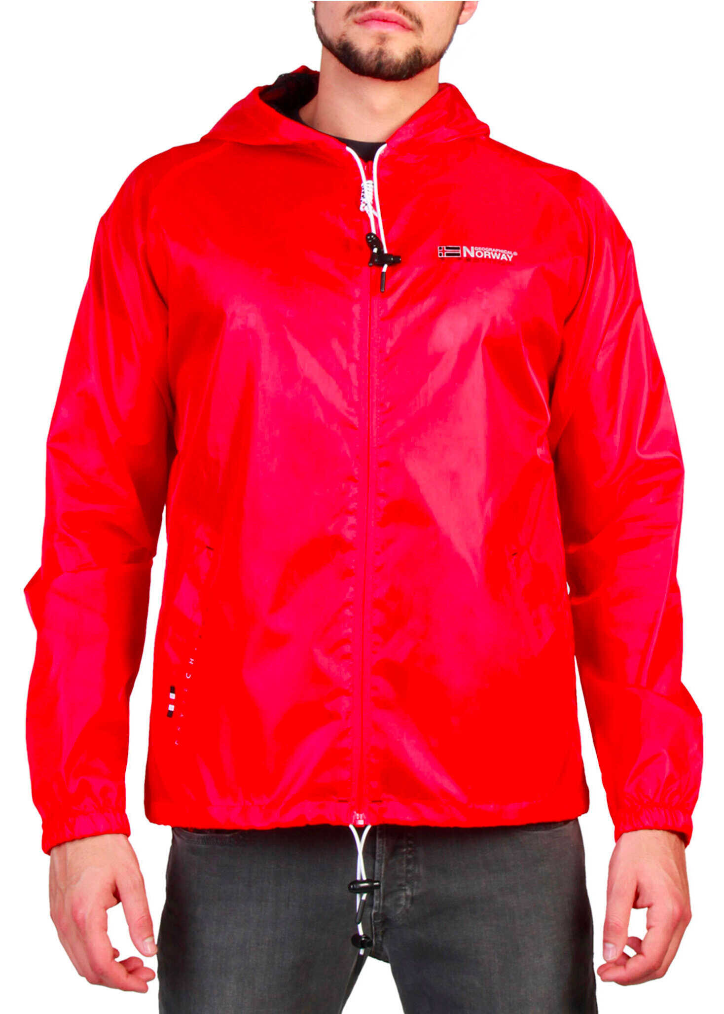 Geographical Norway Boat_Man Red