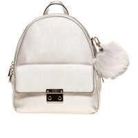 Genti de Mana Varsity Pop Women's Silver Backpack Femei