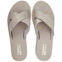 Sandale Sporty Mid Beach Sandals In Gold Beige* Femei