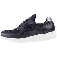 Tenisi & Adidasi Low Top Metallic Studs Trainers In Black* Femei
