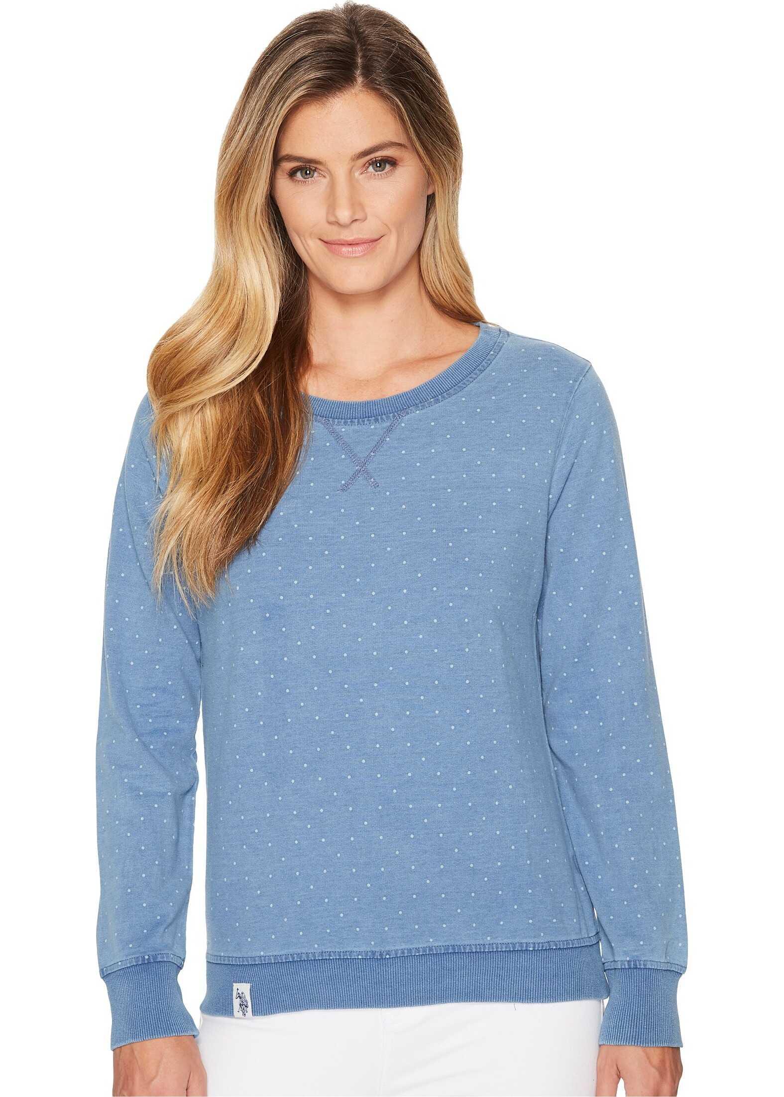 U.S. POLO ASSN. Knitted Sweatshirt Blue