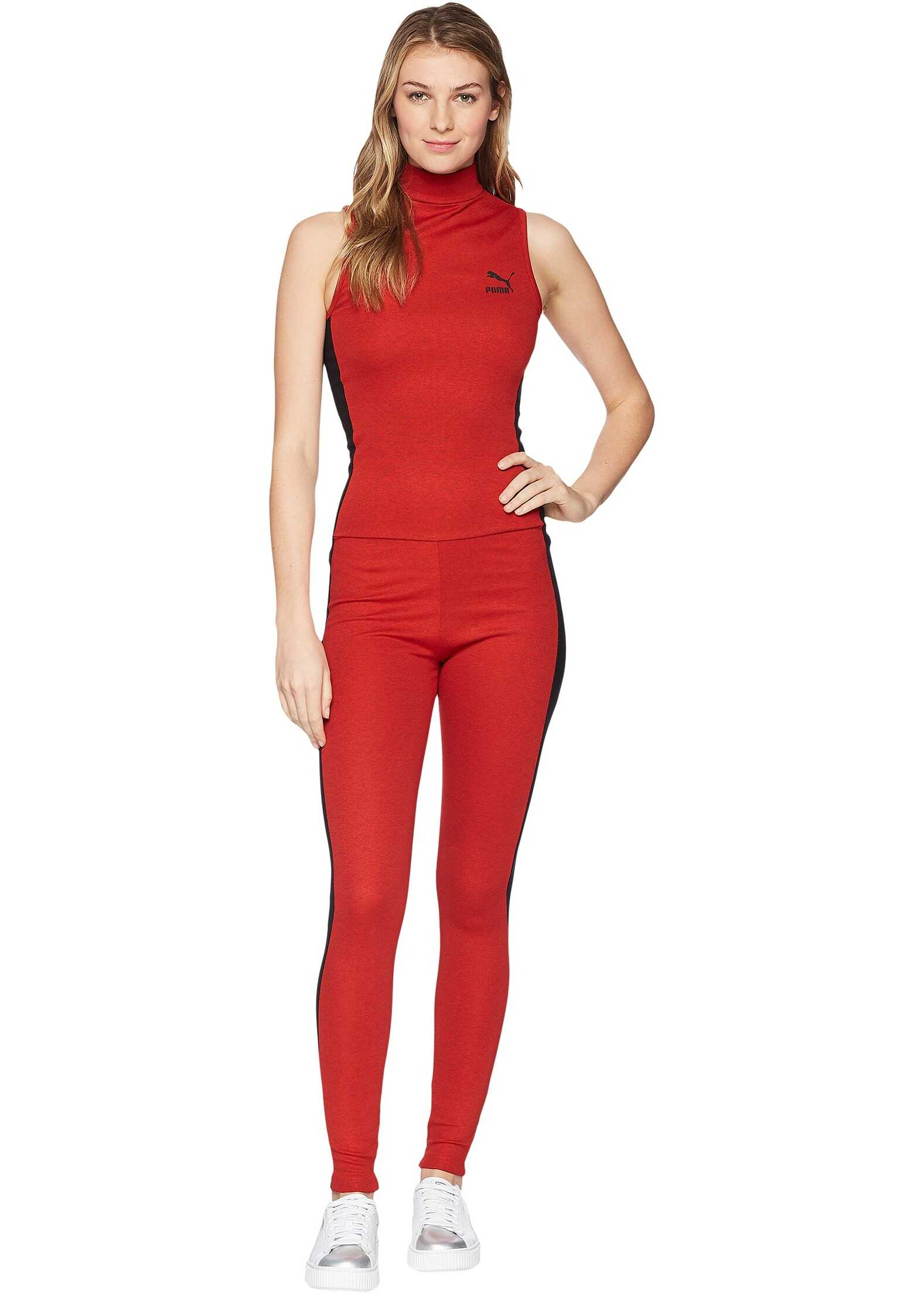 PUMA T7 Jumpsuit High Risk Red/Black