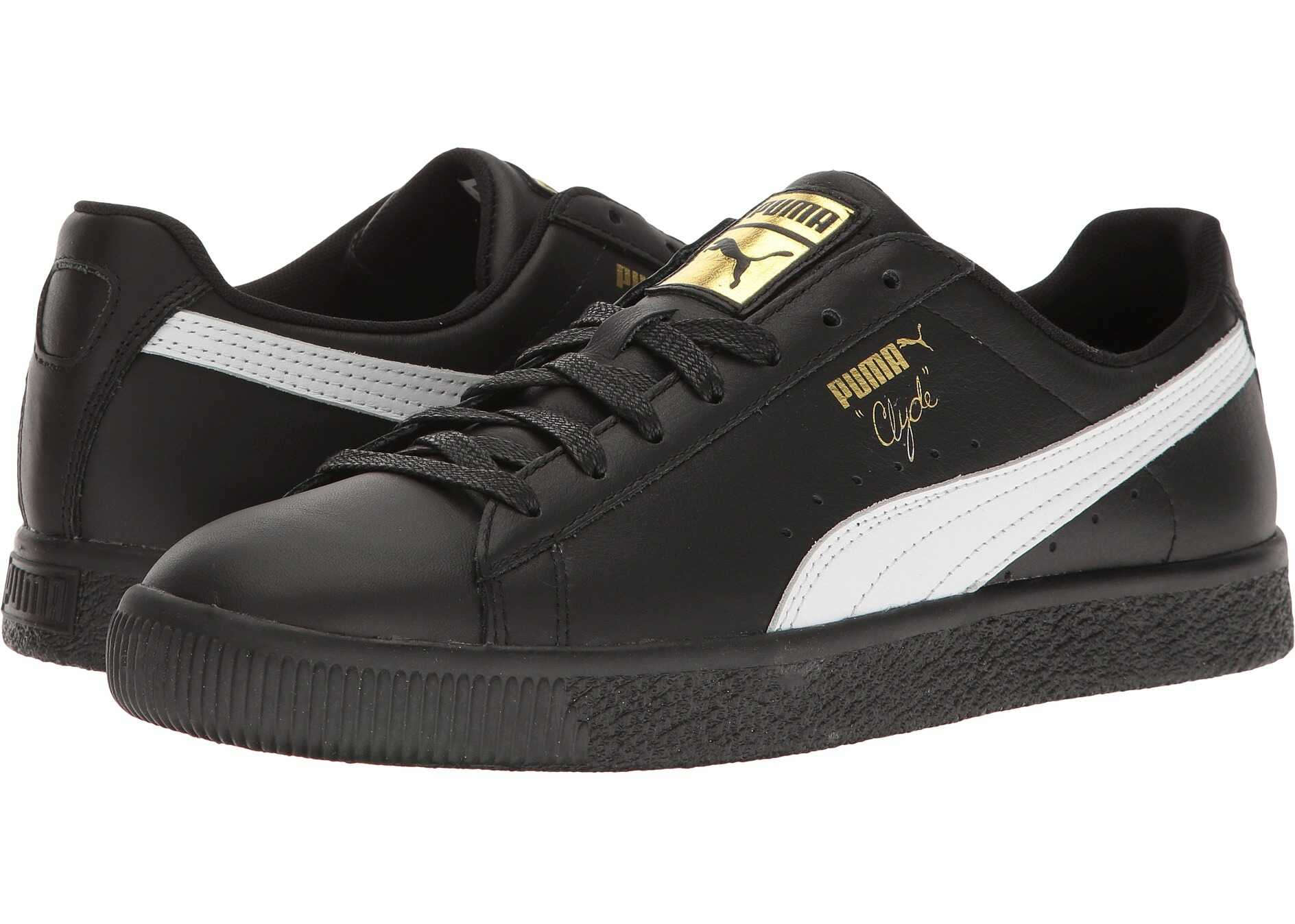 PUMA Clyde Core L Foil Black/White/Gold