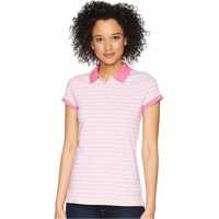 ed9383b2c Tricouri Polo Moncler Pink Polo With Logo Inserts Pink Femei ...
