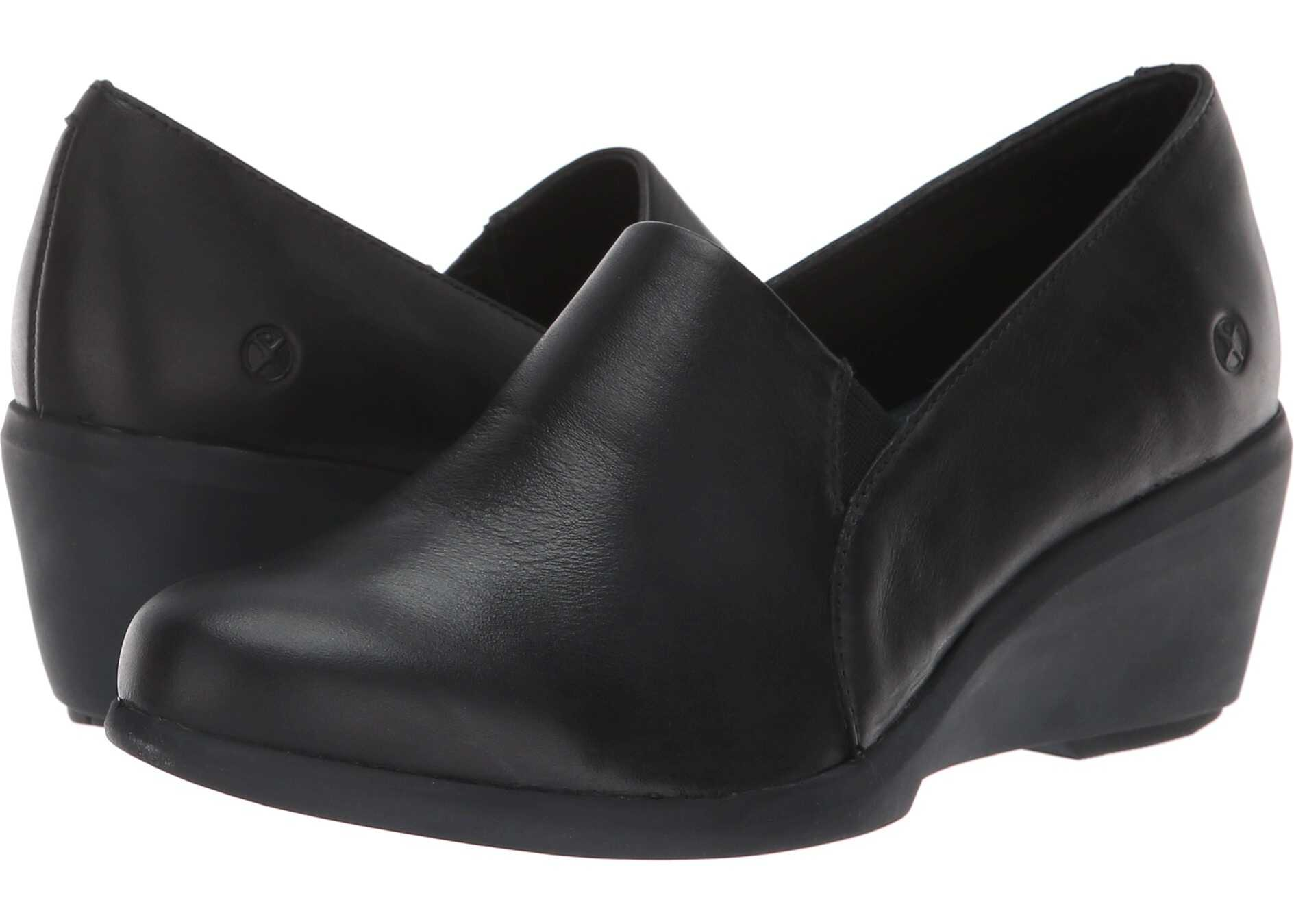 Hush Puppies Fraulein Mariya Black Shield Leather