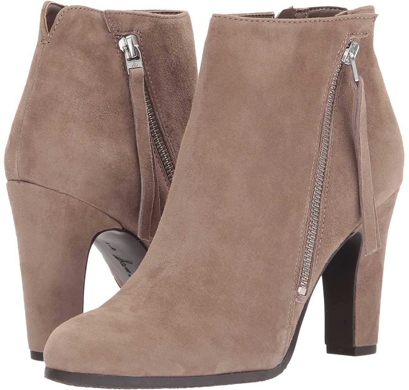 Sam Edelman Sadee Putty Kid Suede Leather
