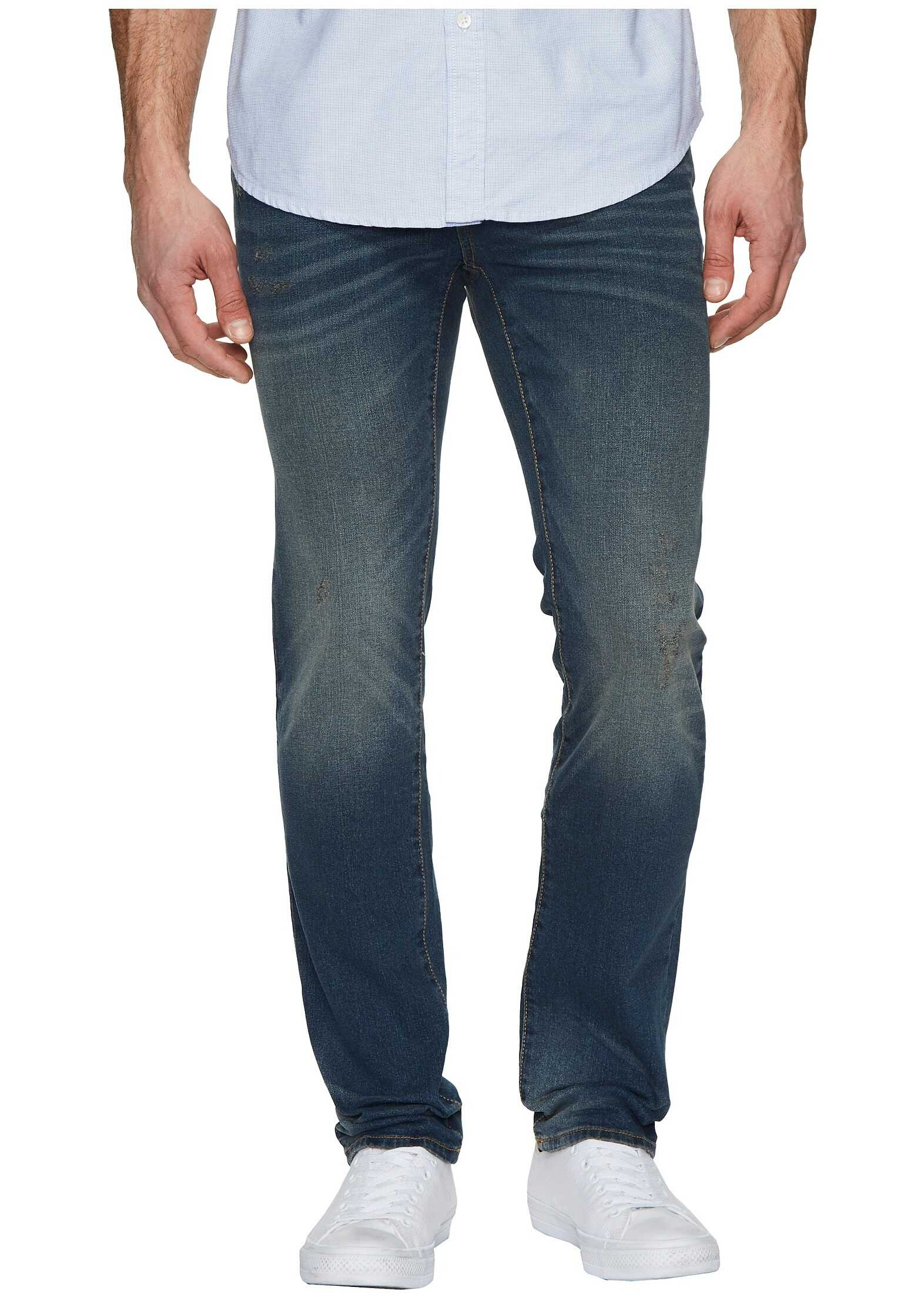 U.S. POLO ASSN. Five-Pocket Stretch Slim Jeans in Tint Tint