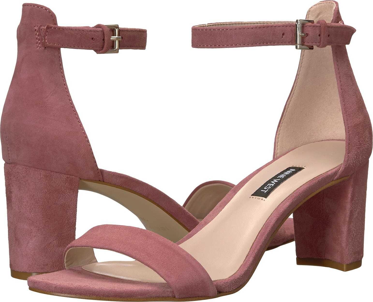 Nine West Pruce Block Heel Sandal Peony