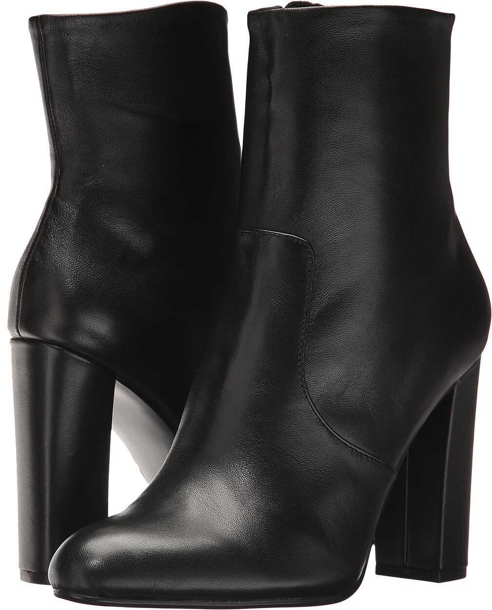 Steve Madden Editor Dress Bootie Black Leather