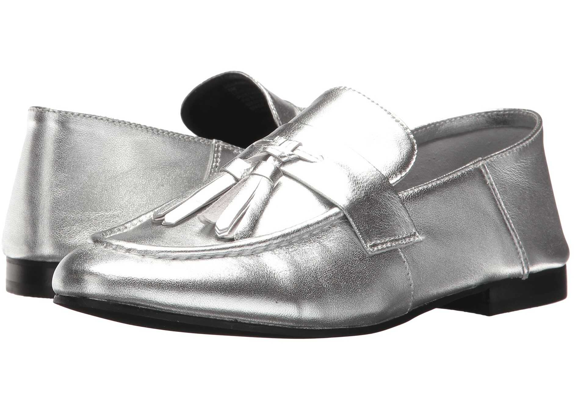 Steve Madden Beck Silver Leather