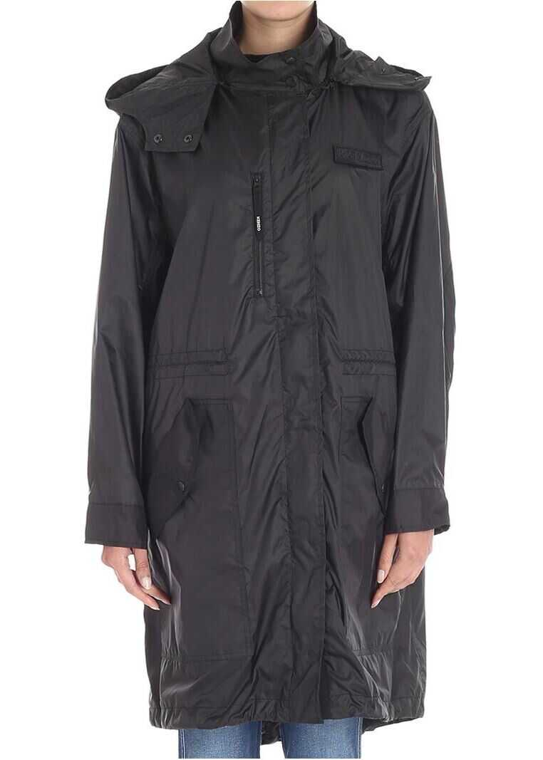 Black Hyper Parka Jacket