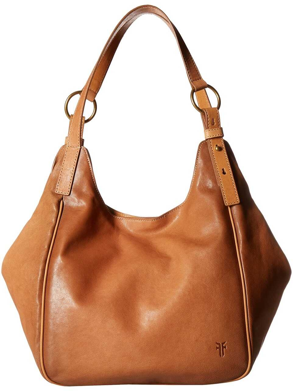 Frye Madison Shoulder Tan