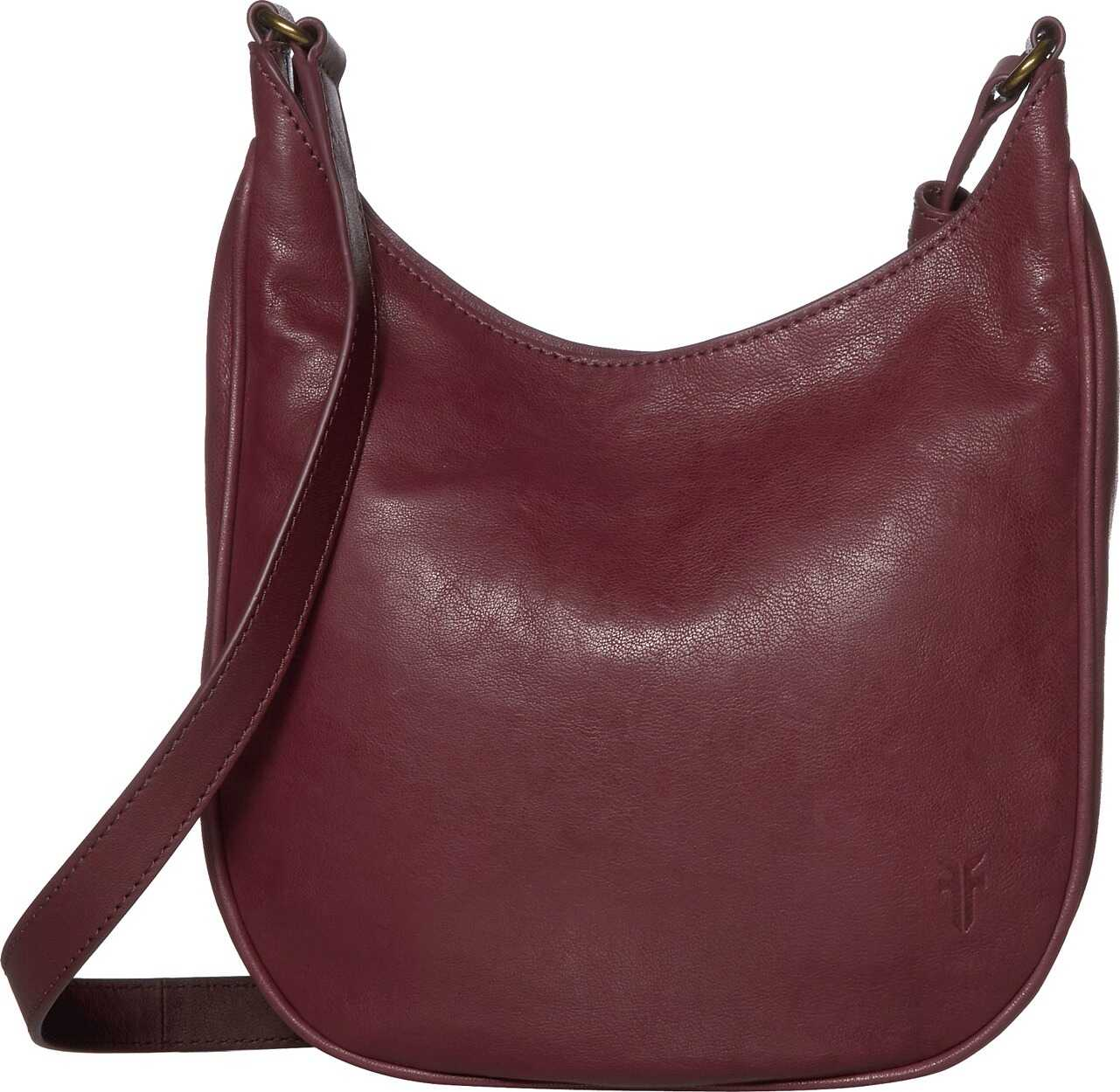 Frye Madison Crossbody Wine
