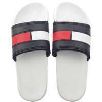Slapi Flag Pool Slide In White Navy Red* Barbati