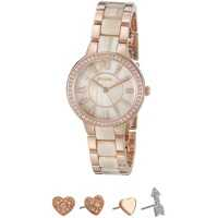 Ceasuri Fashion Virginia Watch/Earrings Set - ES3965SET Femei