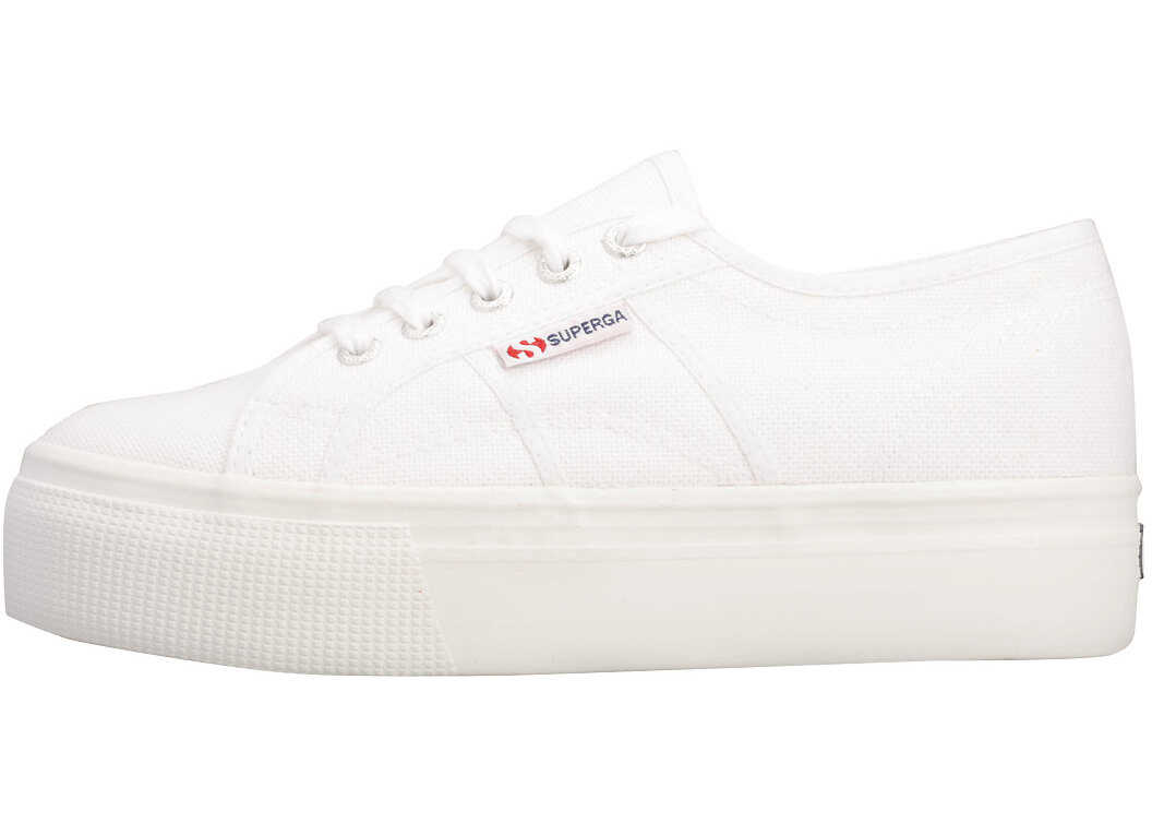 Superga 2790 Linea Up And Down Trainers In White* White
