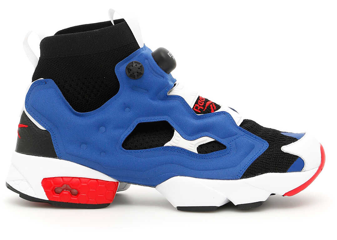 Reebok Unisex Ultraknit Instapump Fury Sneakers BLACK/DARK ROYAL