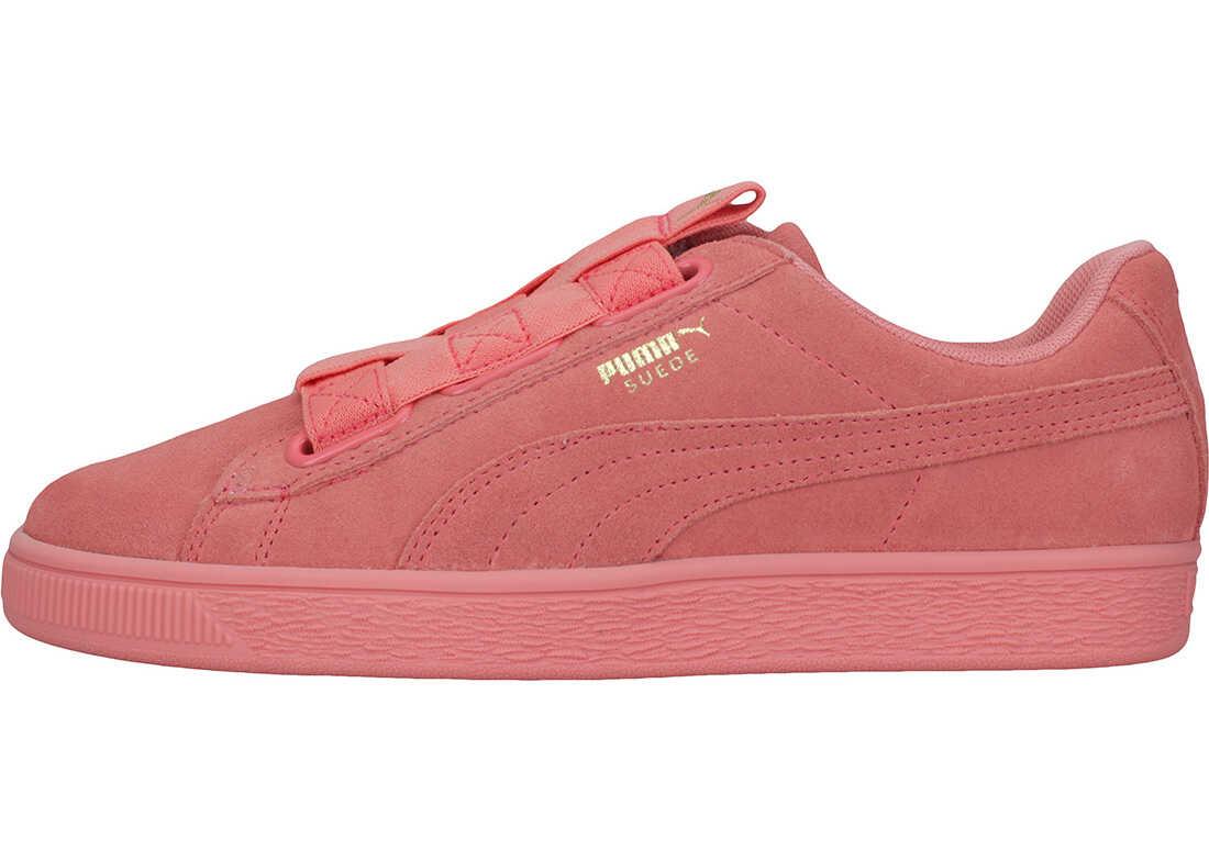 PUMA Suede Maze Slip On In Pink Pink