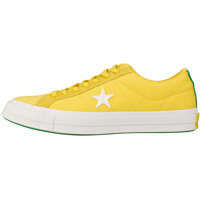 Tenisi & Adidasi Converse One Star Ox Trainers In Gold Green