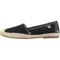Tenisi & Adidasi Embroidered Casual Espadrille Slip On In Black Femei