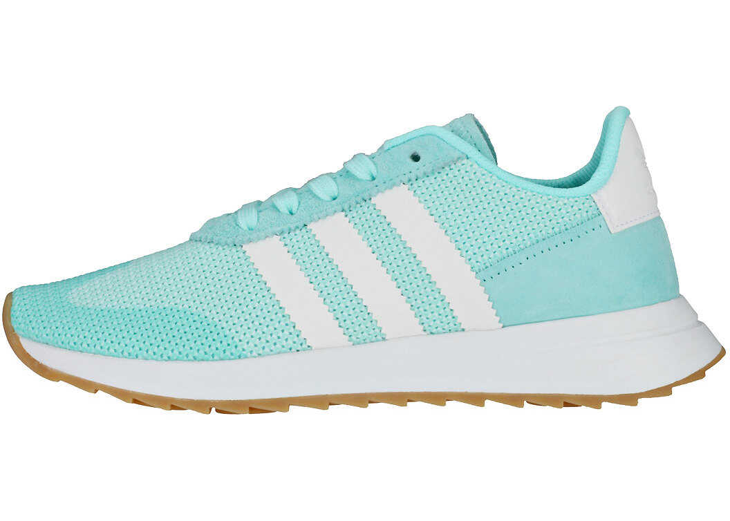 adidas Flb_Runner W Trainers In Aqua White Blue