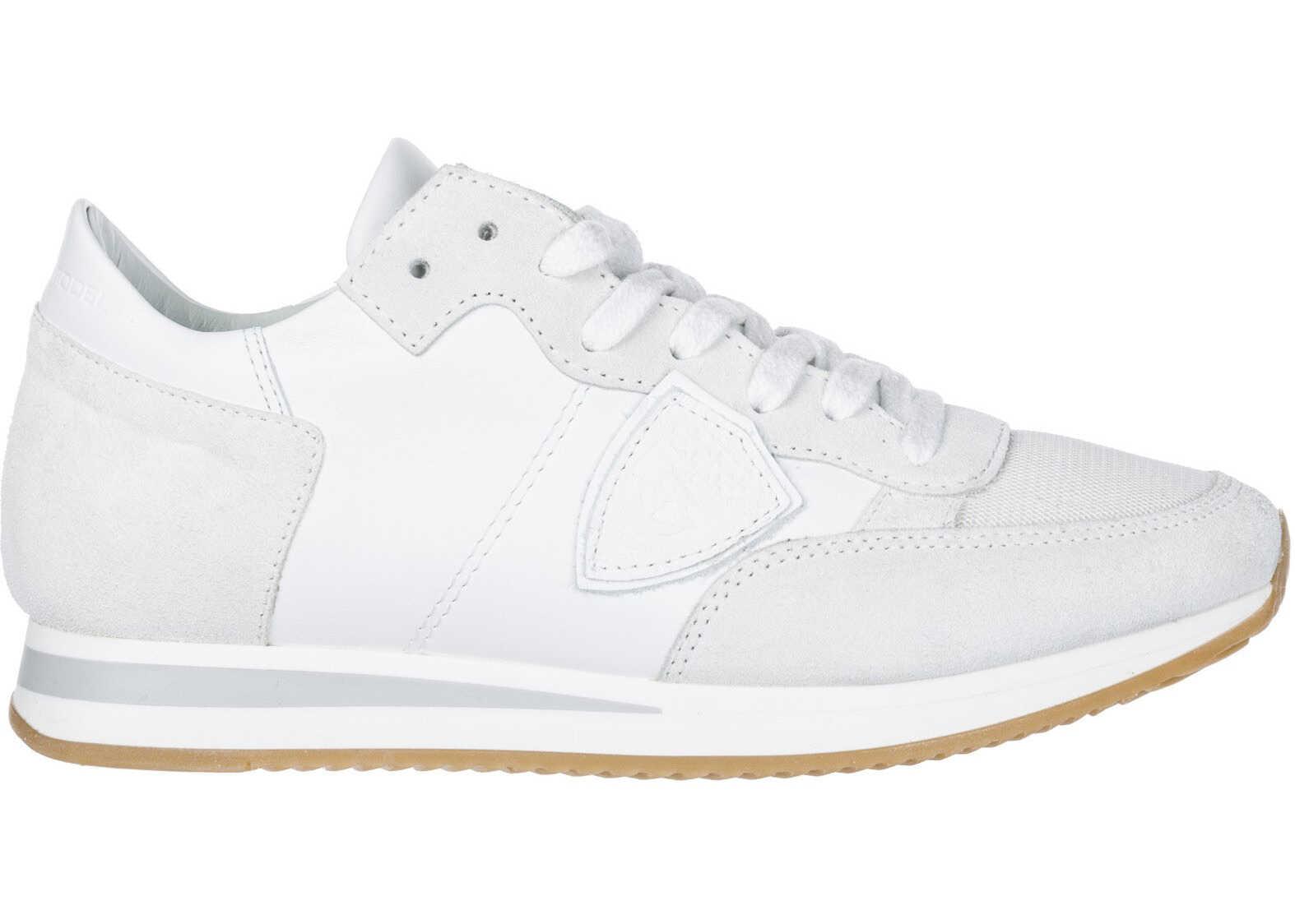 Philippe Model Sneakers Tropez White