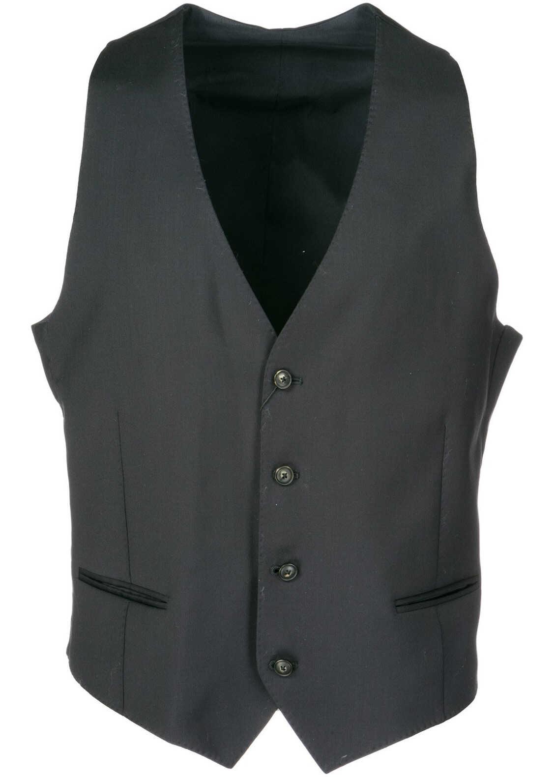 Emporio Armani Waistcoat Vest Black