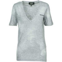 Tricouri T-Shirt Short Sleeve V-Neck Femei