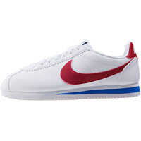 Tenisi & Adidasi Classic Cortez Trainers In White Red Femei