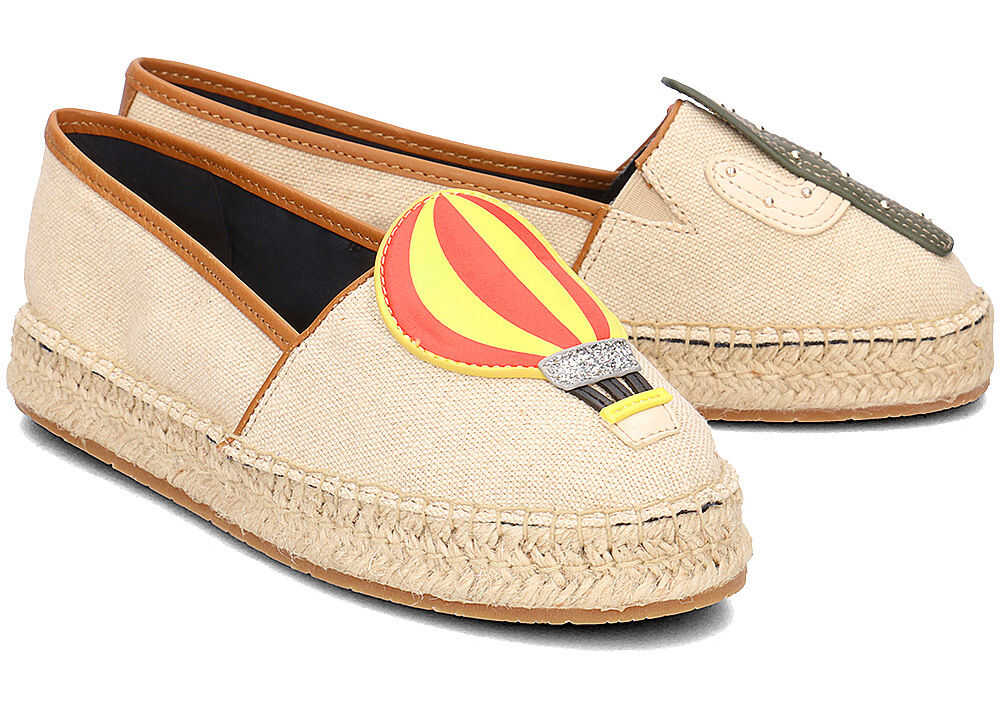 Tommy Hilfiger Patch Espadrille Balloon Beżowy