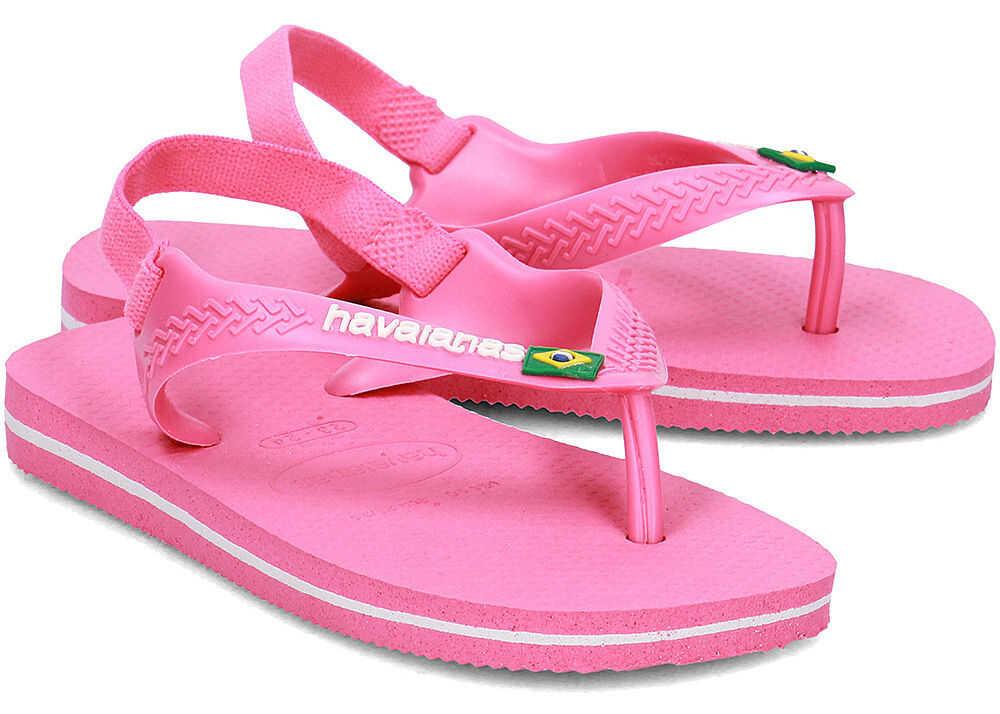 Sandale Fete Havaianas Brasil Logo
