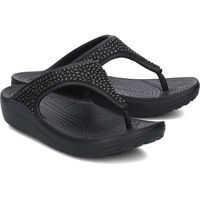 Slapi Crocs Sloane Embellished Flip