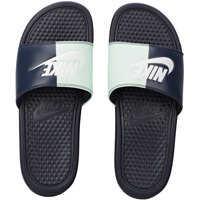 Slapi Nike Benassi Jdi Slide In Obsidian White*