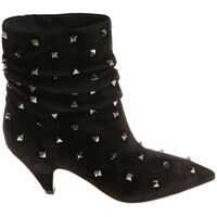Ghete & Cizme Pointy Ankle Boots With Studs Femei