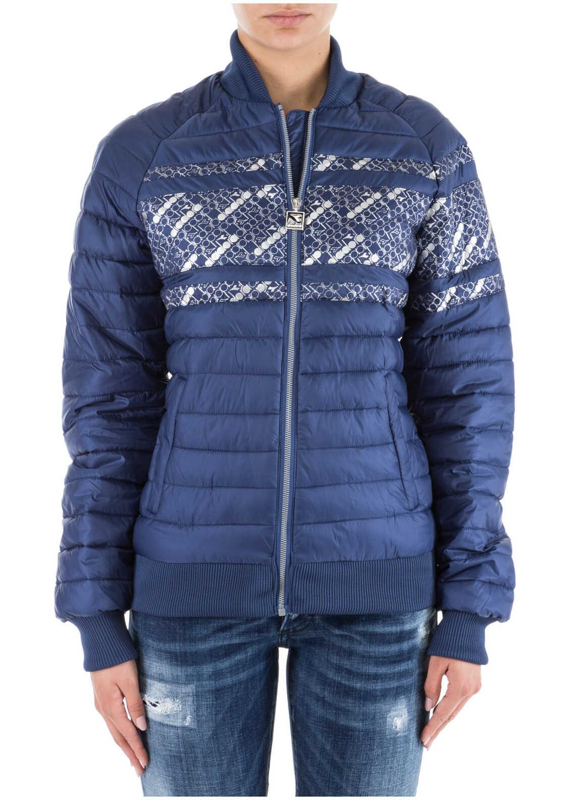 Diadora Jacket Blouson Blue