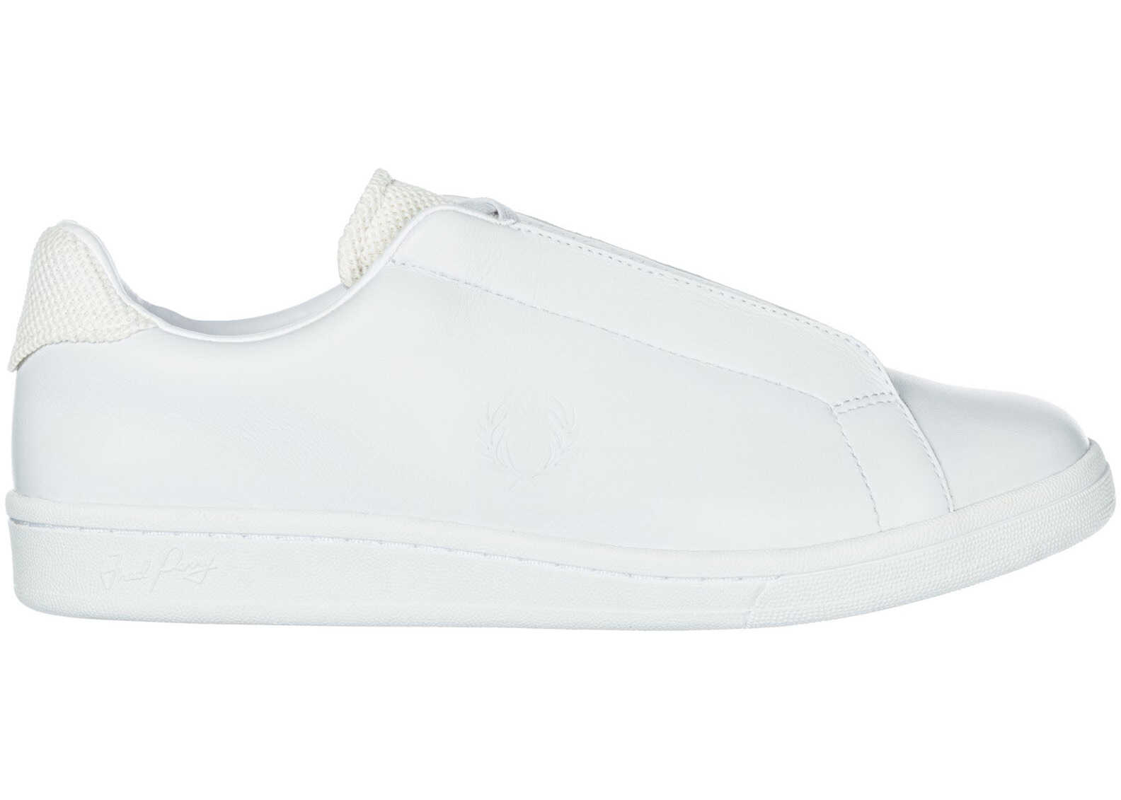 Fred Perry Hidden Lace White