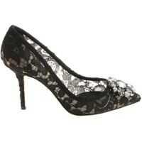 Incaltaminte Dolce & Gabbana Black Lace Pumps